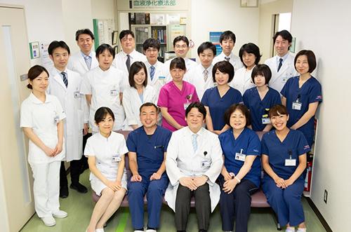 血液浄化療法部の集合写真